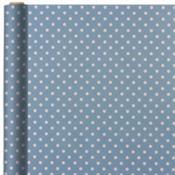 Jumbo Pastel Blue Polka Dot Gift Wrap