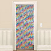 Party Flower Door Curtain 72in