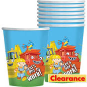 Bob the Builder Cups 8ct