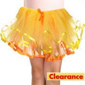 Girls Yellow and Orange Tutu