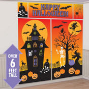 Halloween Wall Decorating Kit 5ct