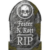 Funny Tombstone Decoration 22in
