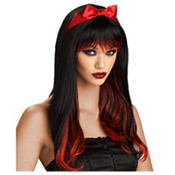 Enchanted Tresses Red/Black Wig