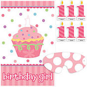 Girl 1st Birthday Party Game