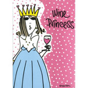 Wine Princess Purse Notepad