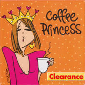 Coffee Princess Magnet