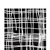 Black Crosshatch Lunch Napkins 16ct