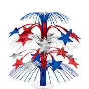 Patriotic Star Cascade Centerpiece
