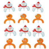 Frosted Fun Cupcake Toppers 12ct