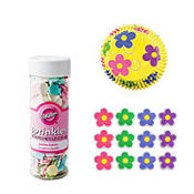 Dancing Daisy Cupcake Decorating Kit For 12