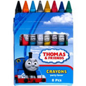 Thomas the Tank Engine Crayons 8ct