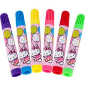 Hello Kitty Markers 6ct