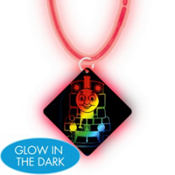 Thomas the Tank Engine Necklace with Glow Pendant