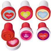 Valentines Day Stamper Set 6ct