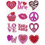 Valentine's Day Body Jewelry 12ct