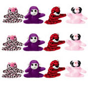 Valentines Day Mini Plush Animals 12ct<span class=messagesale><br><b>83¢ per piece!</b></br></span>