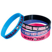 Monster High Rubber Bracelets 4ct
