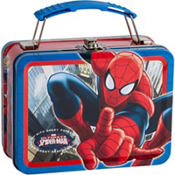 Mini Spiderman Lunch Box 6in
