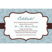 Fashion Surprise Custom Invitation