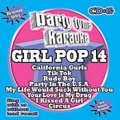 Girl Pop 14 Party Tyme Karaoke CD