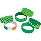 St. Patricks Day Cuff Bands 6ct
