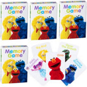 Sesame Street Memory Game 4ct