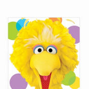 Sesame Street Big Bird Lunch Napkins 16ct