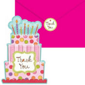 Sweet Stuff Thank You Notes 8ct