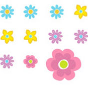 Spring Cutouts 2 1/2in 50ct