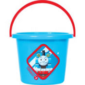 Plastic Thomas the Tank Engine Easter Bucket 8in