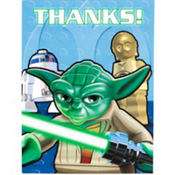 Lego Star Wars Thank You Notes 8ct