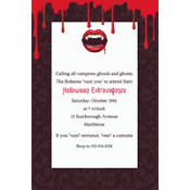 Fangtastic Custom Invitation
