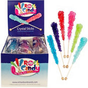 Crystal Rock Candy Sticks 48ct Tub