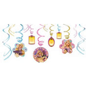Tangled Swirl Decorations 12ct