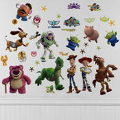 Toy Story 3 Wall Decals 33pc