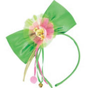 Tinker Bell Bow Headband Deluxe