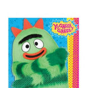 Yo Gabba Gabba Lunch Napkins 16ct