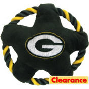 Green Bay Packers NFL Star Rope Disk