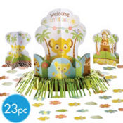 Lion King Baby Shower Table Decoration Kit