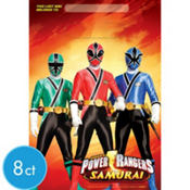 Power Rangers Favor Bags 8ct