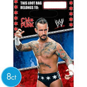 WWE Favor Bags 8ct