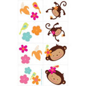 Monkey Love Tattoos 16ct