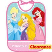 1st Birthday Disney Princess Bib