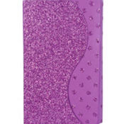 Glitter Purple Purse Notepad