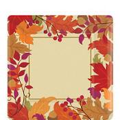 Festive Fall Dessert Plates 18ct