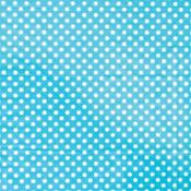 Robin's Egg Blue Dot Printed Tissue Paper 8ct