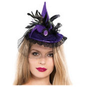 Mini Purple Witch Hat