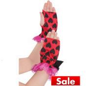 Child Lovebug Fairy Arm Warmers