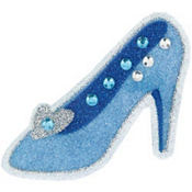 Cinderella Glass Slipper Body Jewelry