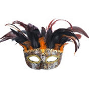 Animal Instinct Feather Mask